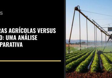 Terras Agrícolas versus Ouro: uma análise comparativa