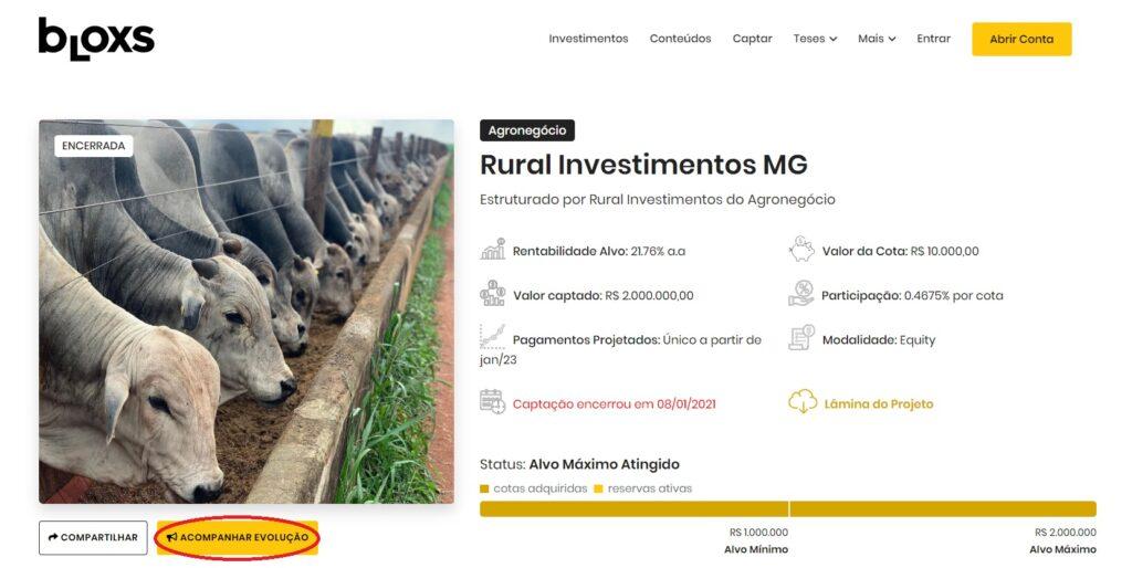 investimento alternativo agronegócio