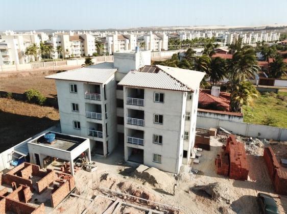 edifício em construção, projeto porto das dunas, Bloxs Investimentos
